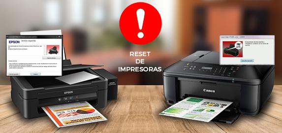 Reset de impresoras