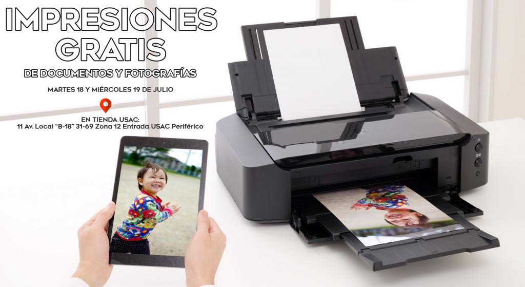 Impresiones Gratis de Documentos y Fotografías - Intelite Guatemala