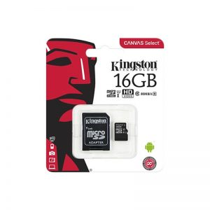 Micro sd 16gb clase 10 kingston