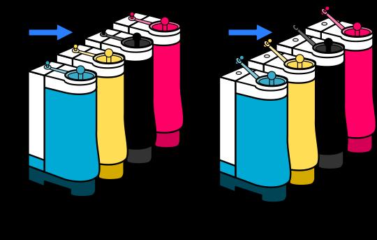 Respiraderos pequeños abiertos sistema