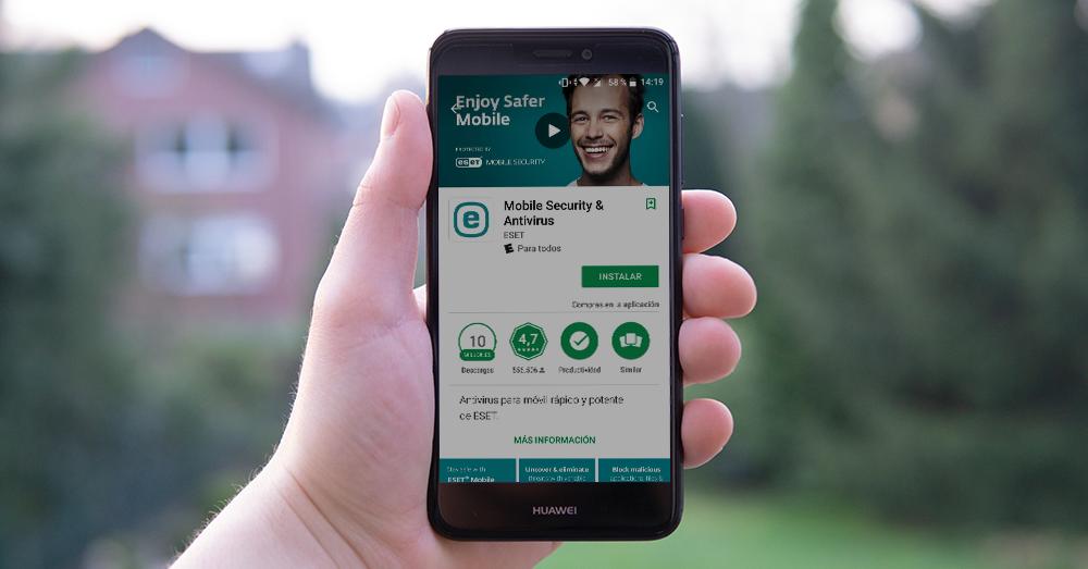 Descargar e Instalar ESET Mobile Security en Android