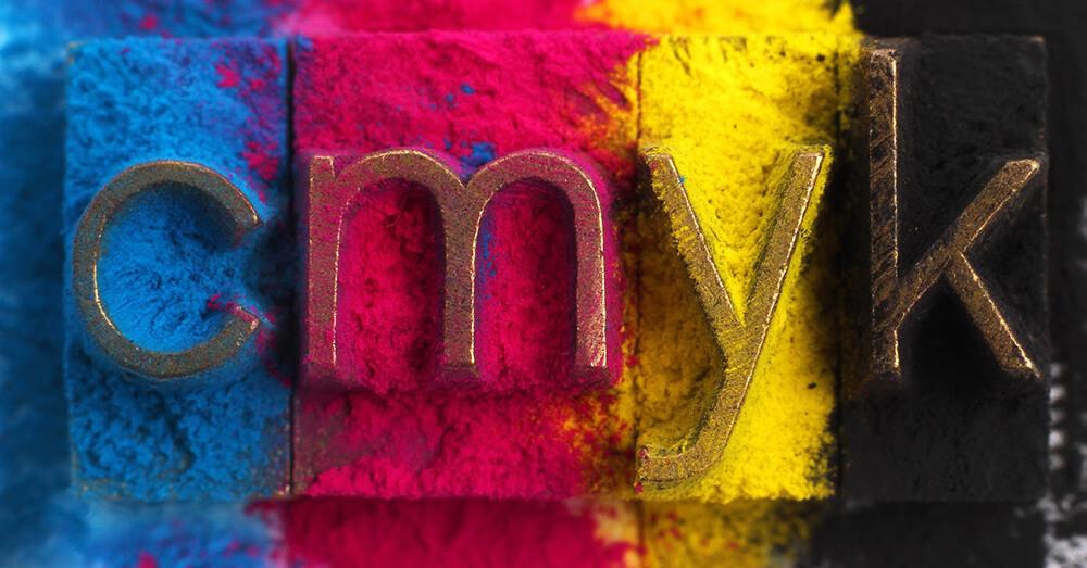 Modelo CMYK en impresión