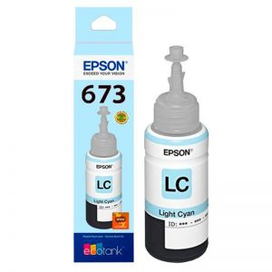 Tinta Original Epson T673 Light Cyan