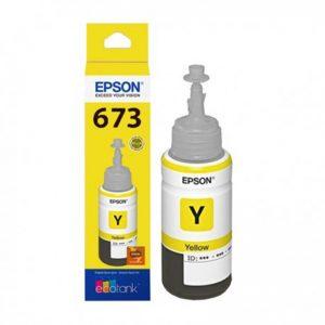 Tinta Original Epson T673 Yellow