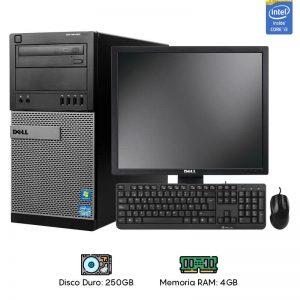Computadora Dell 390/790 Core i3 – 4GB RAM – 250GB HDD