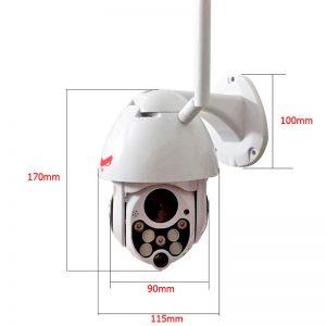 Cámara de Seguridad Inalámbrica Mini PTZ IP Wifi