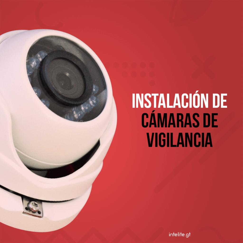 Instalación y configuración de cámaras de vigilancia