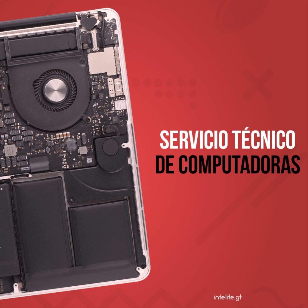 Servicio técnico de computadoras en Guatemala