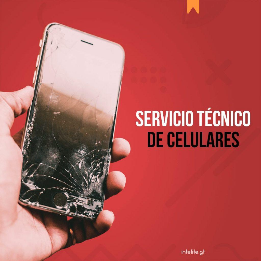 Servicio técnico de celulares en Guatemala
