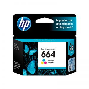 Cartucho Original HP 664 Color