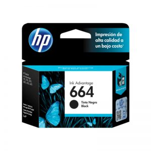 Cartucho Original HP 664 Negro