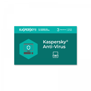 Licencia Kaspersky Anti-virus para 3 dispositivos