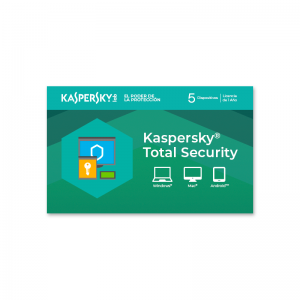 Licencia Kaspersky Total Security para 5 dispositivos
