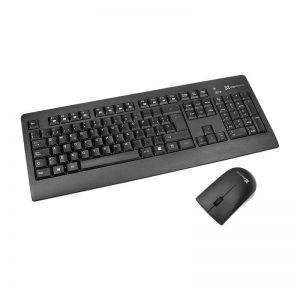 Combo Teclado y Mouse Inalambrico Klip Xtreme KCK-265S