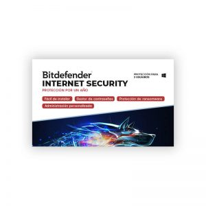 Licencia Bitdefender Internet Security para 3 Dispositivos