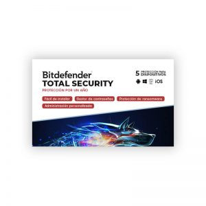 Licencia Bitdefender Total Security para 5 Dispositivos - Intelite Guatemala
