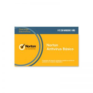 Licencia Norton AntiVirus para 1 Dispositivo - Intelite Guatemala