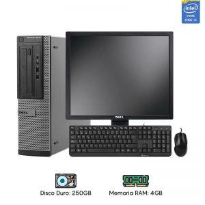 Computadora Dell 3010 Core i3 - 4GB RAM - 250GB HDD