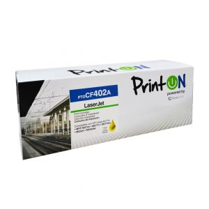 Toner Compatible HP 201A (CF402A) Yellow Printon