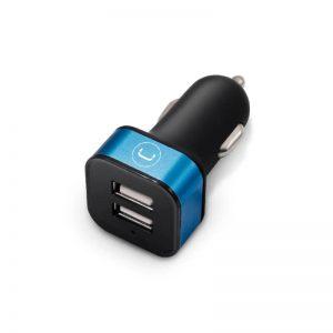 Cargador para Carro USB 2 Puertos Unno Tekno