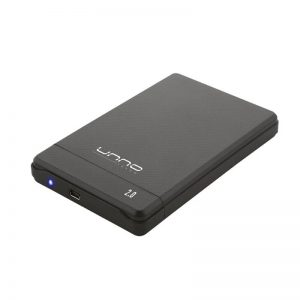 Gabinete para Disco Duro 2.5″ USB 2.0 Unno Tekno