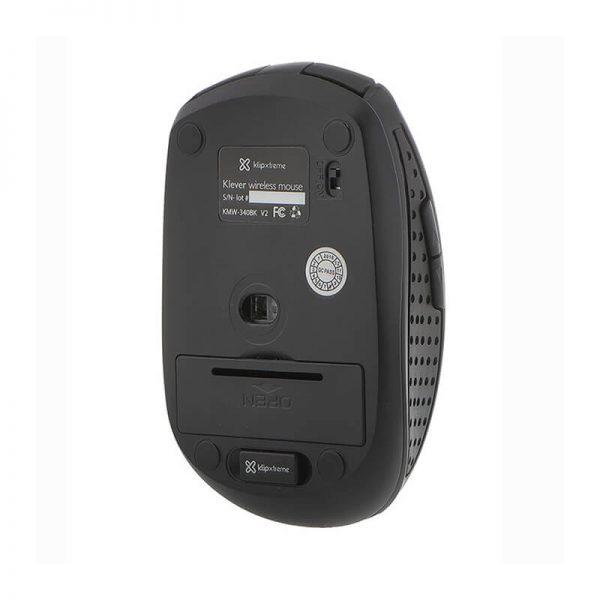 Mouse Inalámbrico Klip Xtreme KMW-340BK