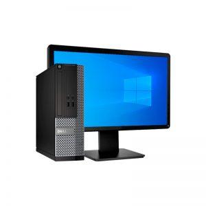 Computadora Refurbished Mini Desk DELL Core i7 - 8GB RAM - 250GB HDD